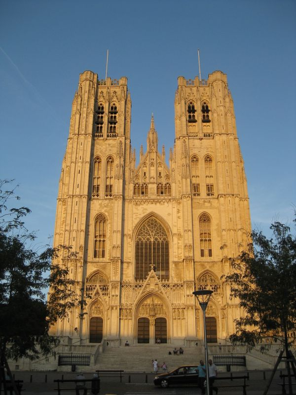 Cathedral in Brussels, August 2009