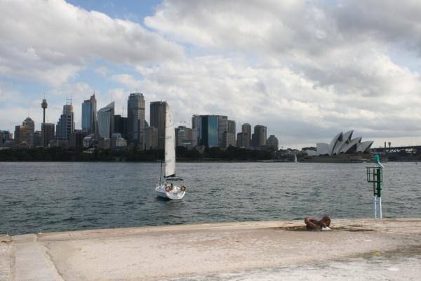 Sydney, taken from Fort Denison, April 2011