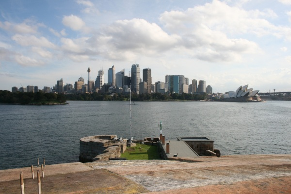 Sydney, from Fort Denison, April 2011