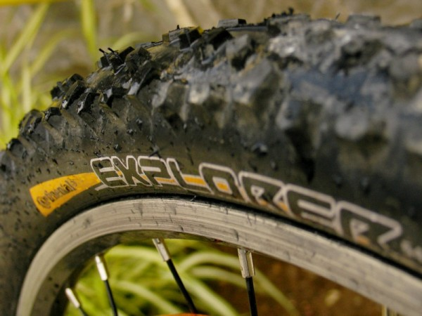 a new bike tire