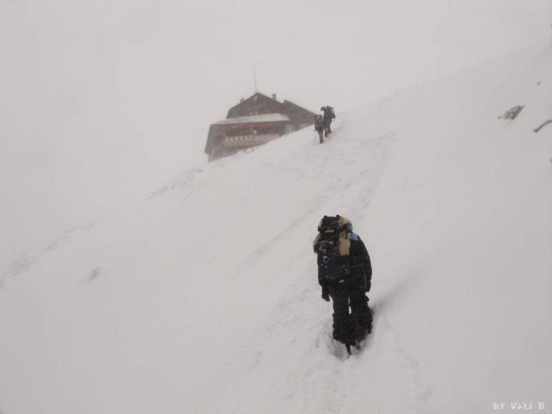 Dochia chalet in Ceahlau Mountains