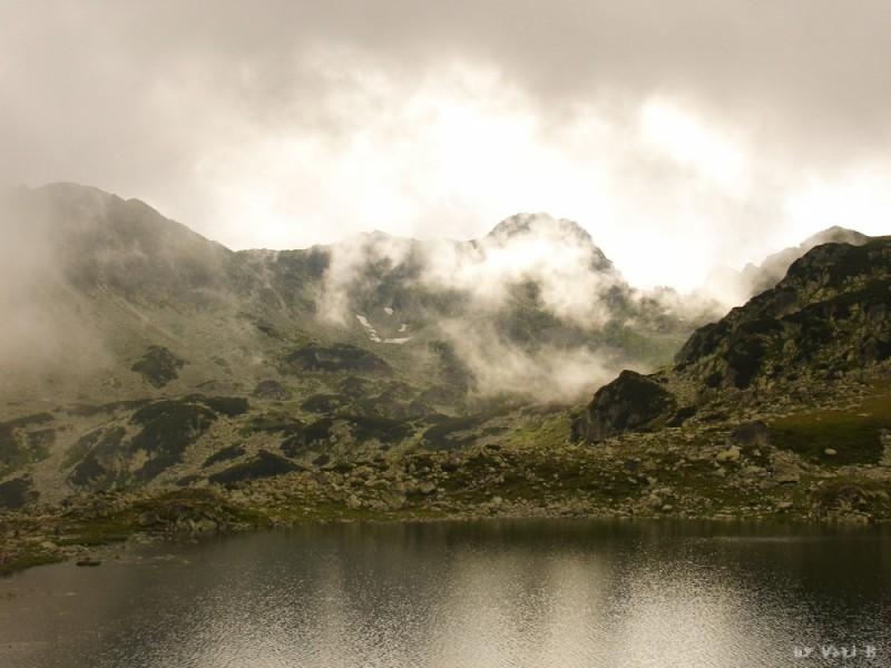 Bucura lake in Retezat