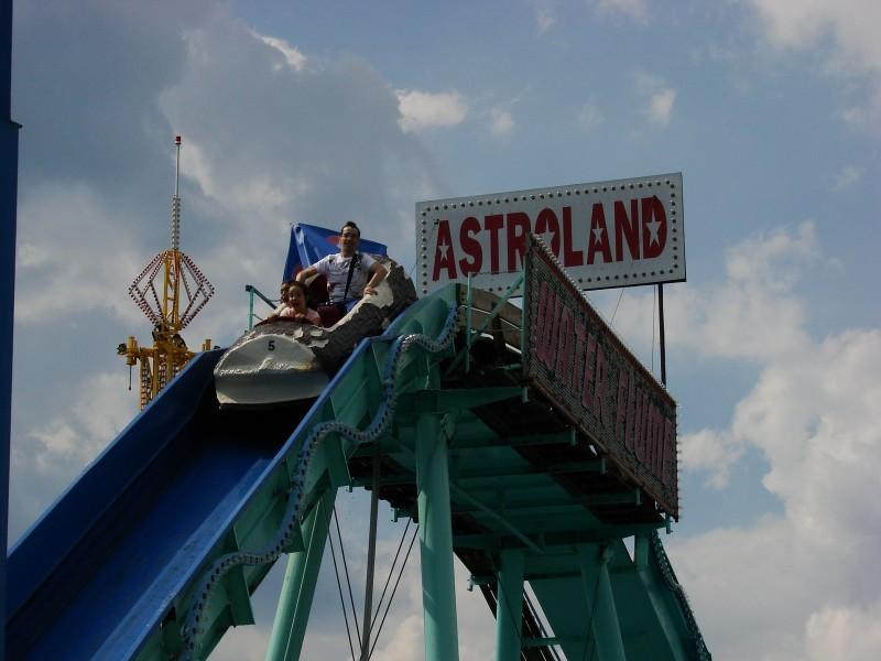 Astroland Waterslide