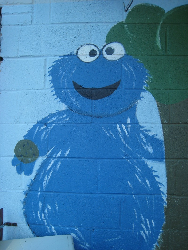 Grover on the Wall