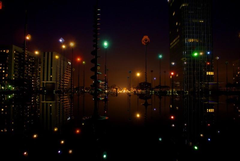 Night Composition in Paris