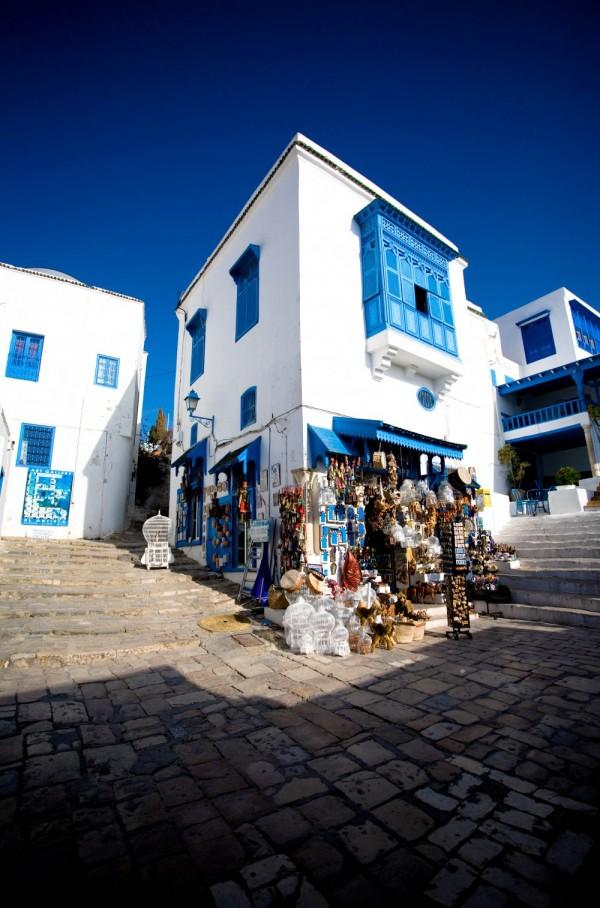 A Geometric shop in Sidi Bou Said