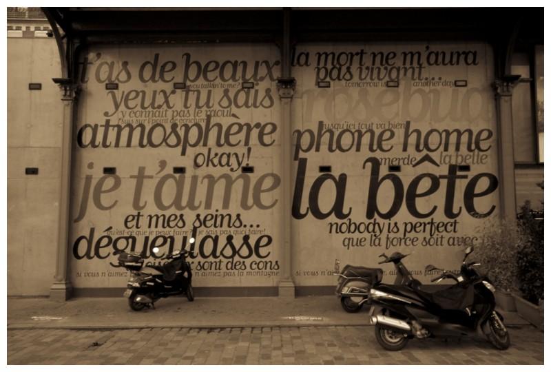 Cinema scooter France Paris