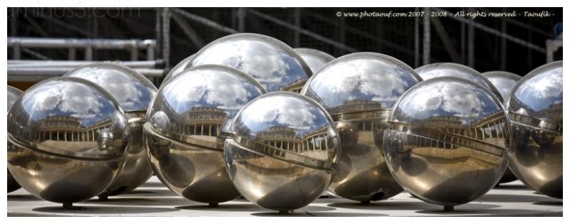 Steel Balls Mirror