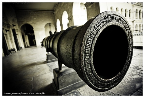 A old gun from les Invalides - paris