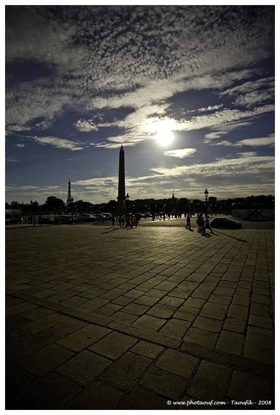 The Obelisque in La Concorde in Paris