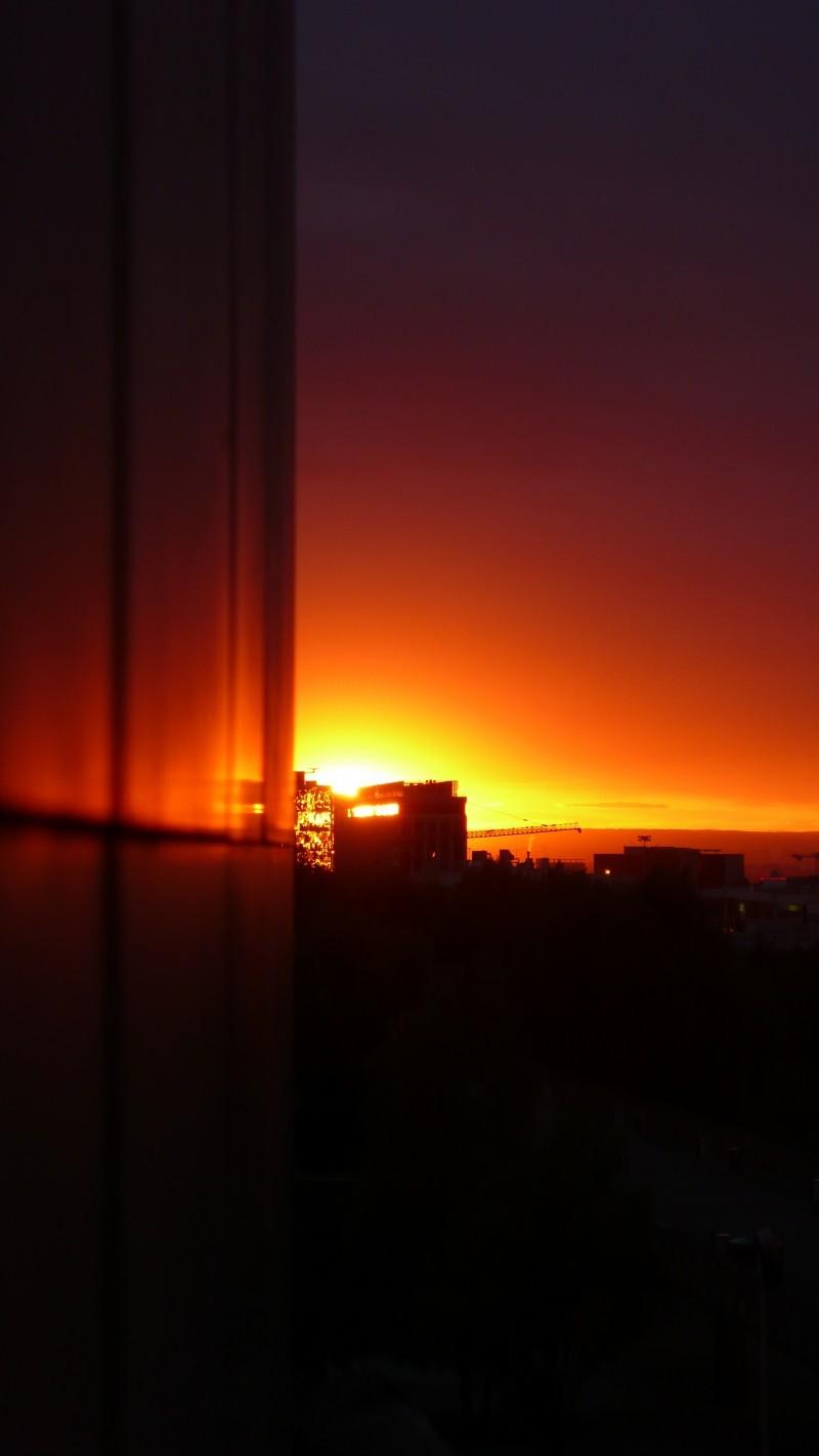 Coucher de soleil a Bagnolet