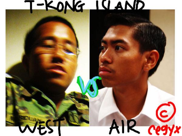 West vs Air @ Pulau Tekong.