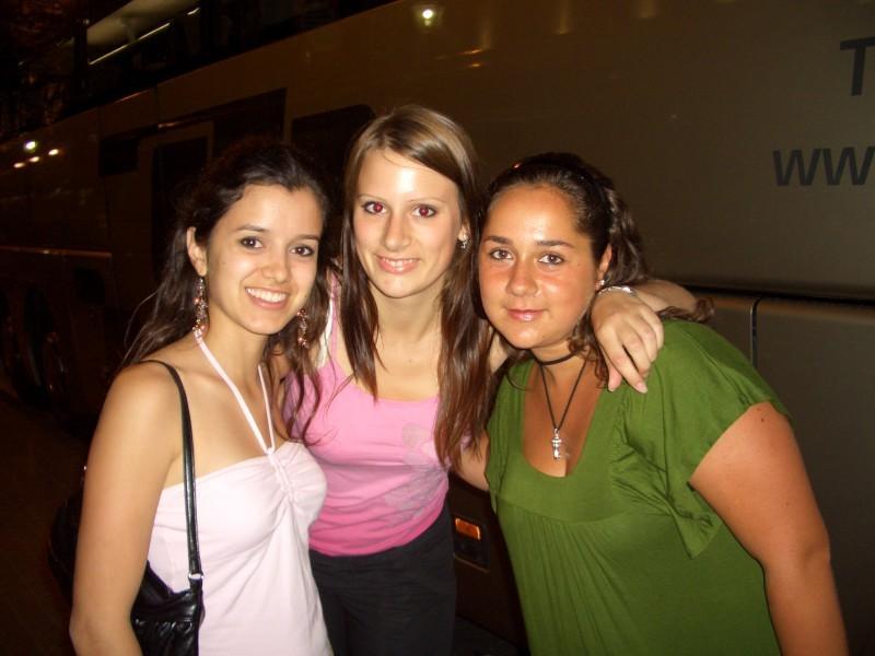 Leticia, yo y Alessandra