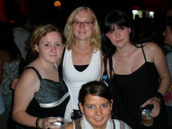 Melli, Steffi, Anne y Zissi