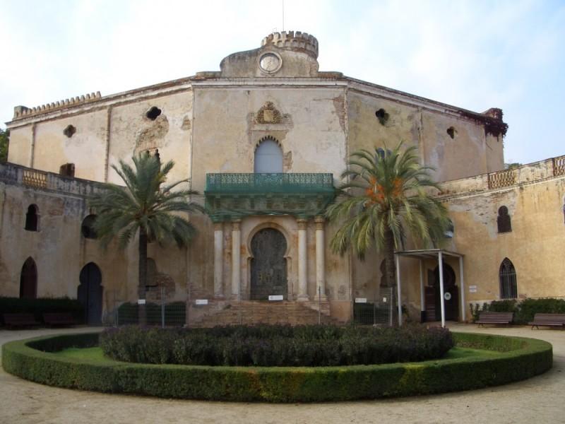 Villa (?) im Parque del Laberinto de Horta