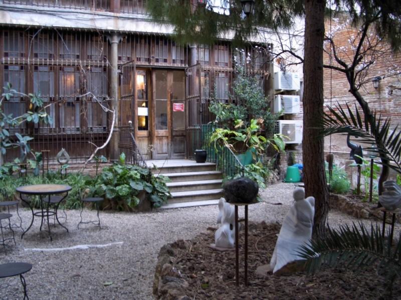 Hinterhof in Gracia