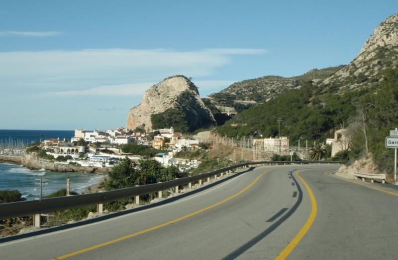 Auf dem Weg nach Tarragona...