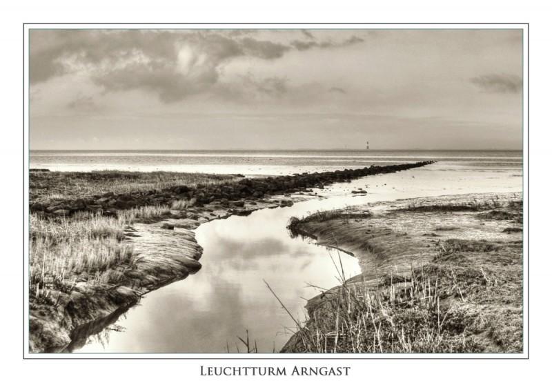 Lighthouse of Arngast / Leuchtturm Arngast