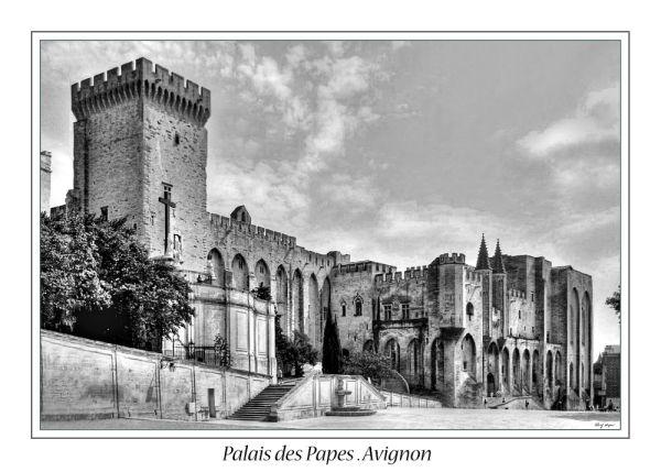 Palais des Papes . Avignon