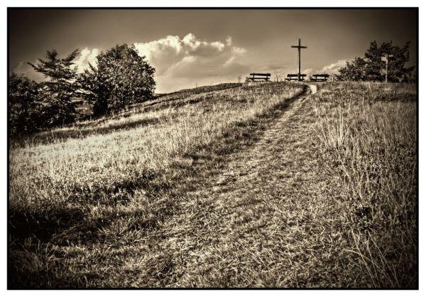 Gipfelkreuz auf dem Pön