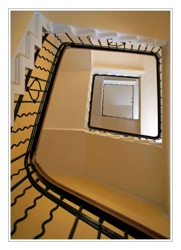 Bei Borchert´s im Treppenhaus
