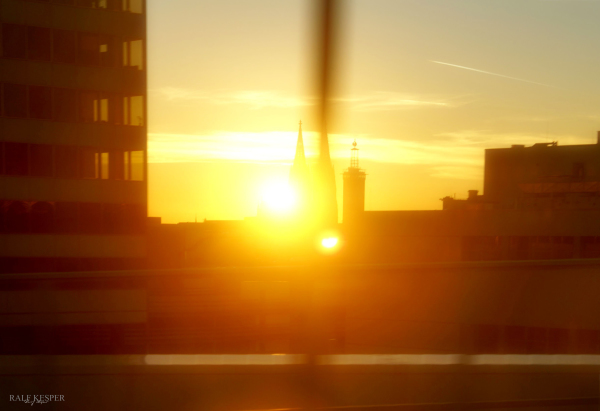 Leaving Cologne