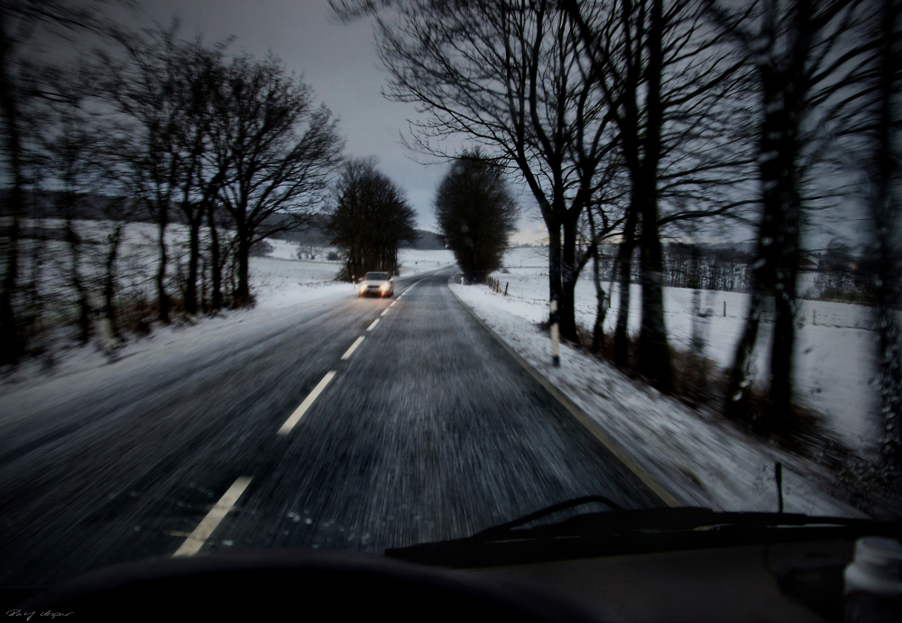 Driving Home For Cristmas