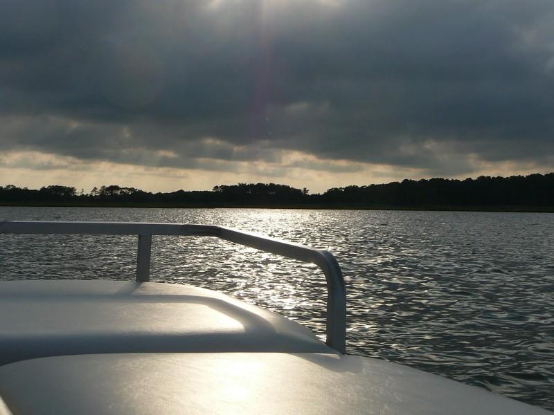 Sunset at Little Assawoman Bay