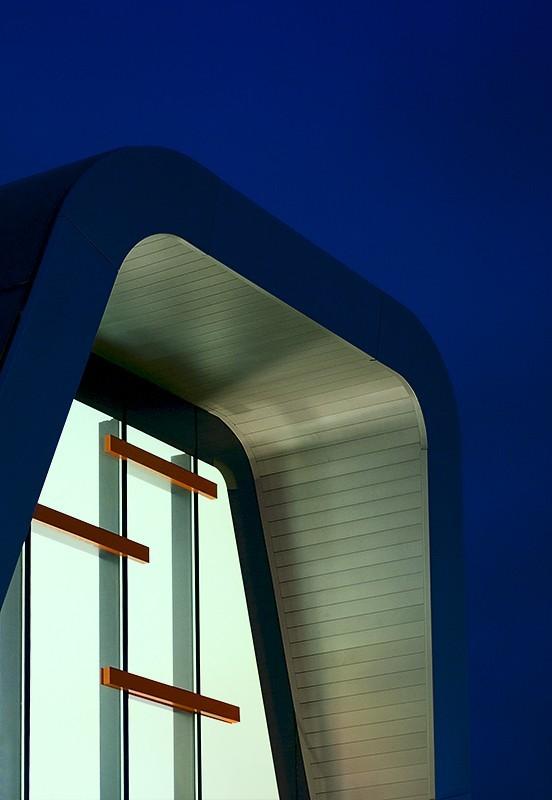 roof, teesside park, blue sky