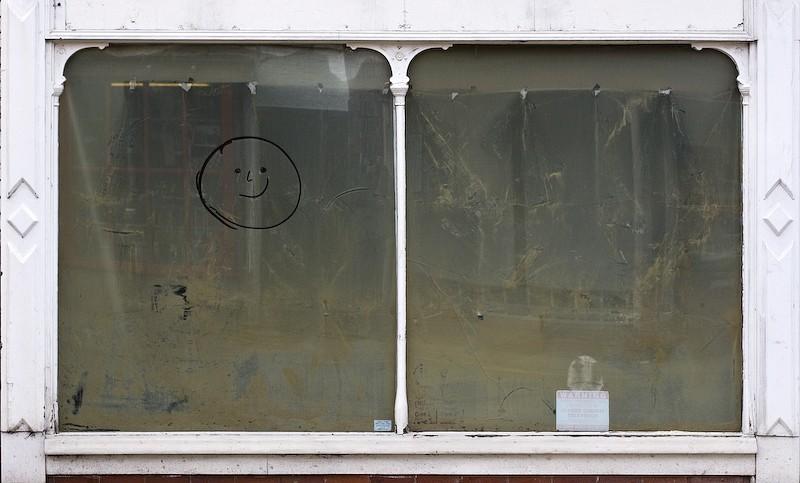 smile shop empty
