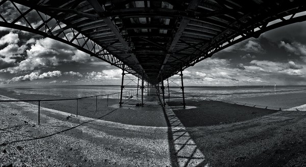 southport pier panorama