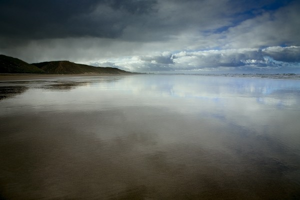 saltburn receding tide