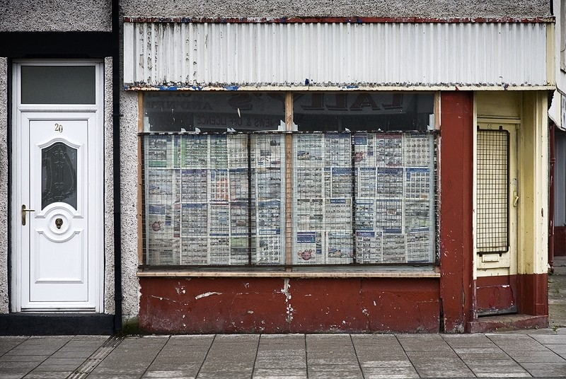 Newspaper Window Darlington
