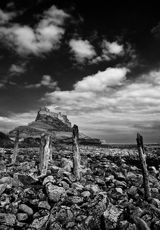 lindisfarne holy island sky sea