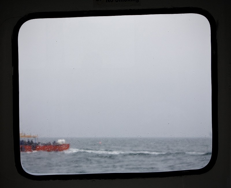 boat sea window