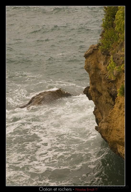 ocean et rochers, nicolas ernult