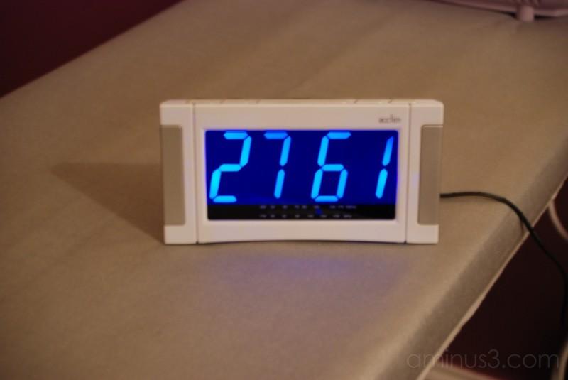 a crazy clock