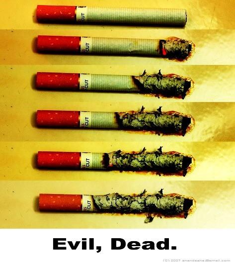 Evil, Dead.