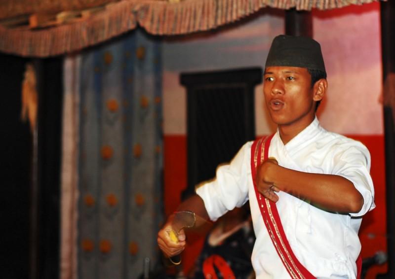 Nepal's folk dance