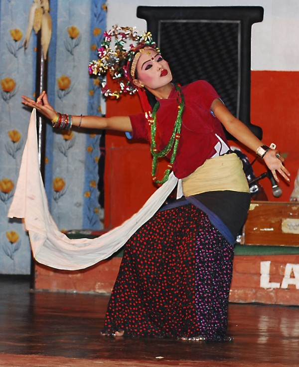 Traditional Nepalese dance