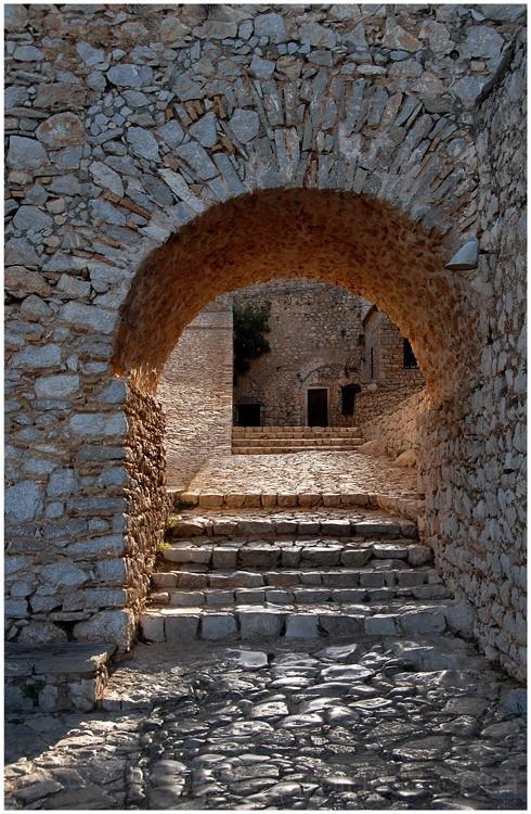 Quiet Greek Monastery