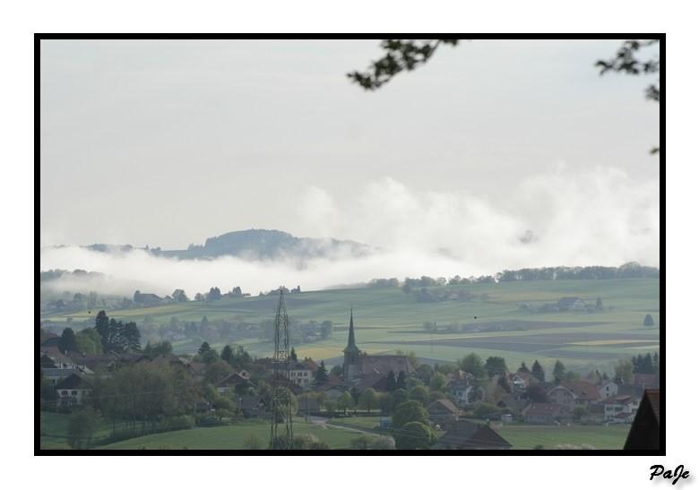 Paysage, Chardouille, vue, Mezieres