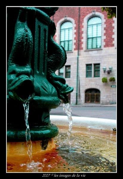 Fontaine pour ce désalterer