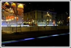Lumière sur la ville de Lausanne