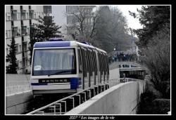 Lausanne Suisse premier passage du m1