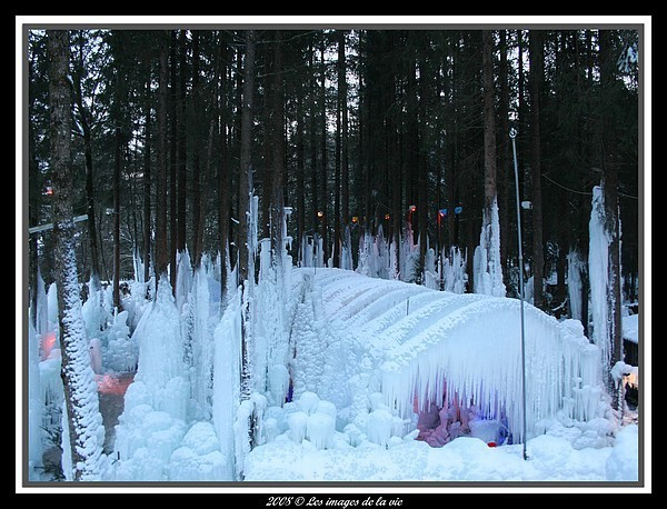 Palais des glace-Ice palace!