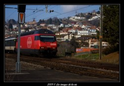 gare de lutry, train direct