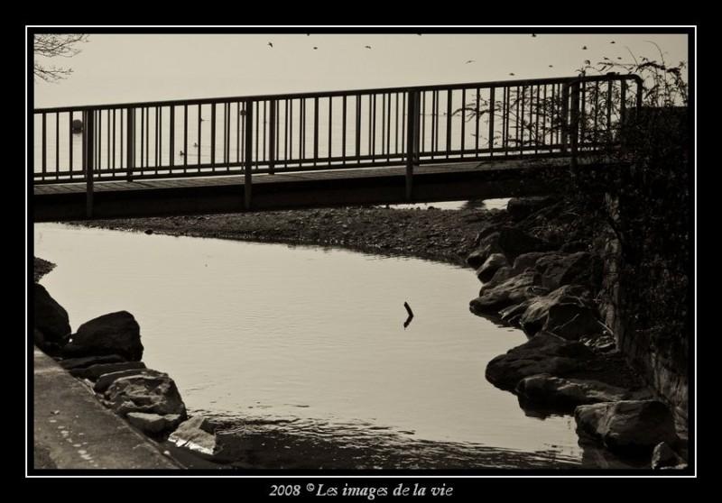 Pont de la vuachère à Lausanne Suisse