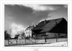 Ferme de Savigny en Suisse