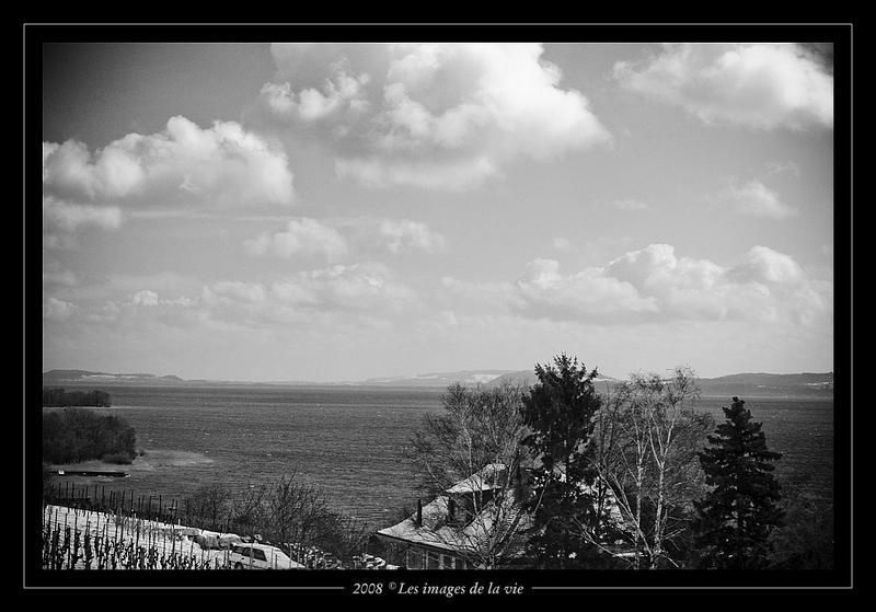 Maison au bord du lac de Bienne